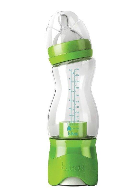 Butelka dla niemowląt z dozownikiem