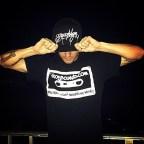 @bboyesco rockin the #bboysoundscassette like a baws!Get urs @ Bboywear.com!Follow @snkrheadnyc Follow @bboyesco #bboysounds #repost