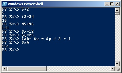 Windows PowerShell – Birol BOZKURT