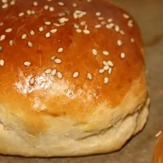 Butter Brioche Burger Bun