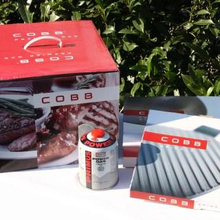 Einweihung des neuen Cobb Premier Gas Grill