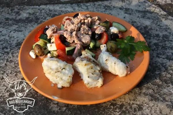 Seeteufel mit Bauernsalat