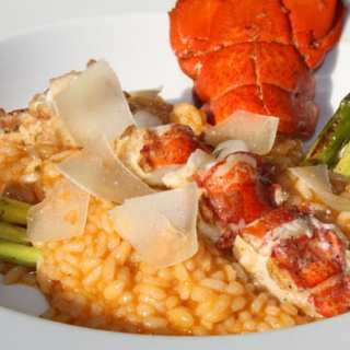 Hummer-Risotto aus dem Dutch Oven