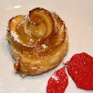 Blätterteig-Apfel-Rosen mit Zimt