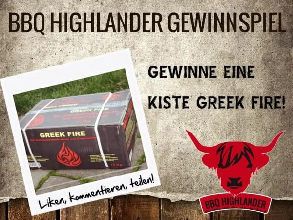 Gewinne 1 Kiste Greek Fire!