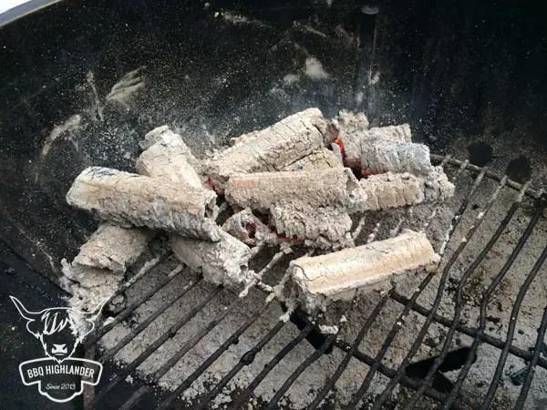 Greek Fire nach 3 Stunden im Grill3