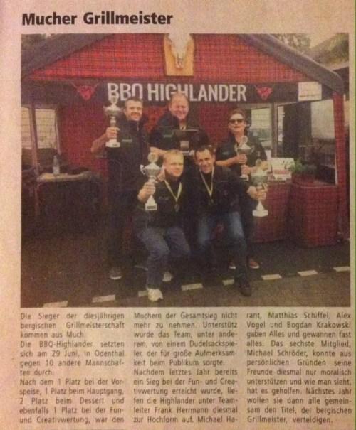 Bergischer Grillmeister 2014 (Quelle www. mitteilungsblatt-much.de)
