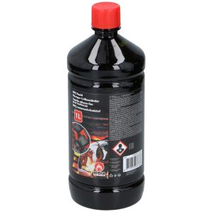 1x Barbecue/bbq aanmaakvloeistof 1 liter