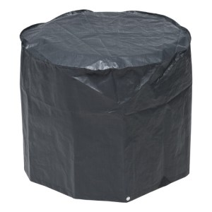 Beschermhoes voor barbecue grijs PE H60x dia. 73cm