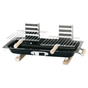 Hibachi compacte houtskool barbecue 43 x 25 cm
