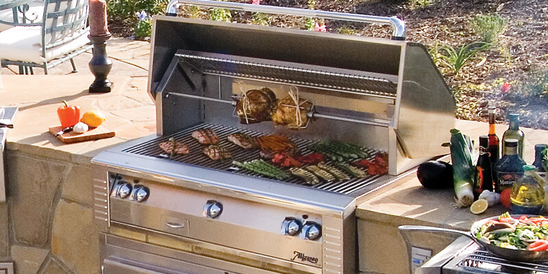 Alfresco Open Air Culinary System Barbecue Grills