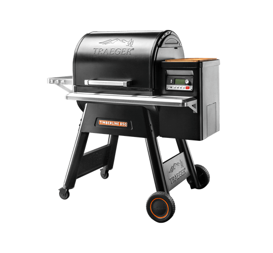 TIMBERLINE 850 PELLET GRILL - Front View