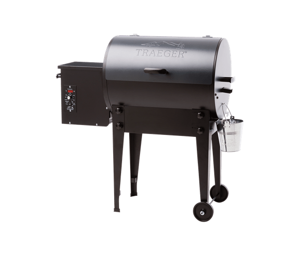 TAILGATER PELLET GRILL - BLUE - Front View