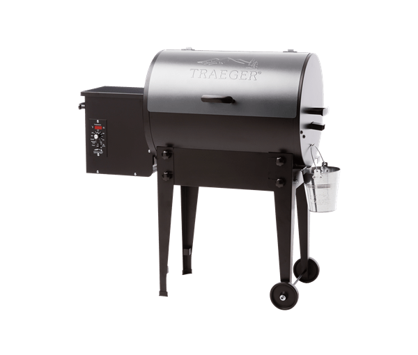 TAILGATER PELLET GRILL - SILVER - Front View