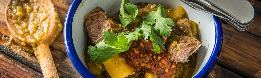 Traeger Recipe - Braised Antelope Chile Verde Traeger Wood Fired Grills