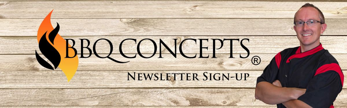BBQ Concepts Newsletter Sign-up