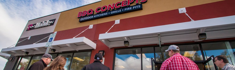 Outside BBQ Concepts of Las Vegas, Nevada - Chef Instructed Grilling Class
