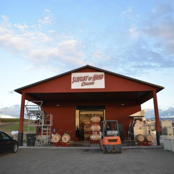 Sleight of Hand Cellars, a funkadelic place to explore wines and spin records.