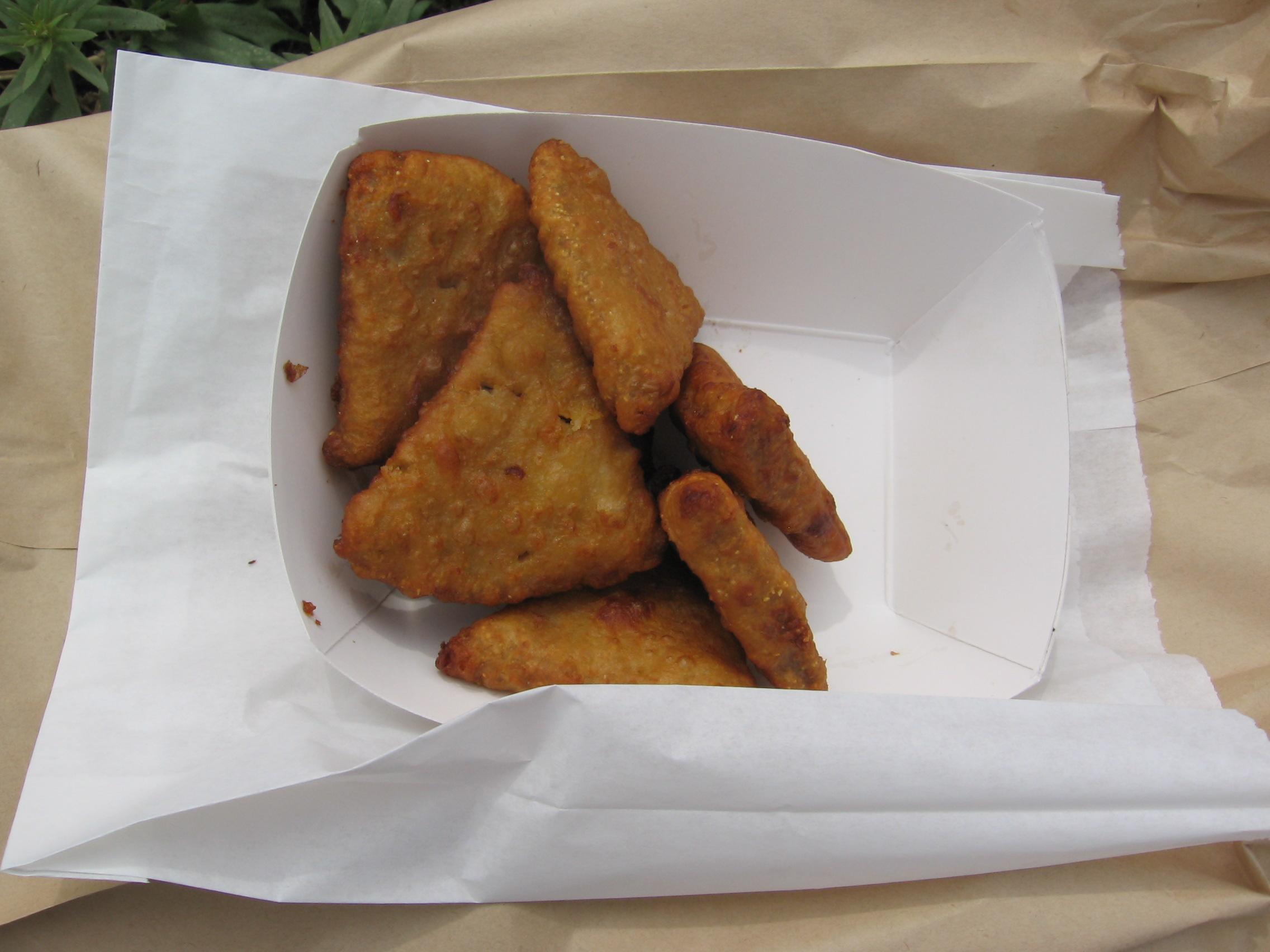 Pork nuggets from Pork Chop John's