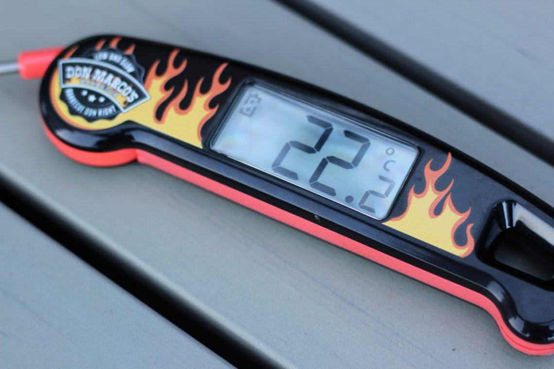 Außentemperatur mit dem Don Marcos Thermometer