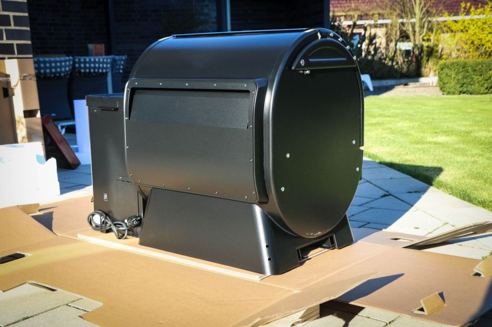Traeger Timberline 850 Unboxing