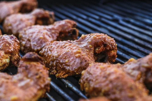 Madras Curry Wings