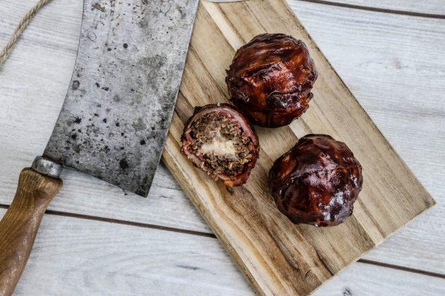 Bueffel-Meatballs-vom-Traeger-Timberline-9