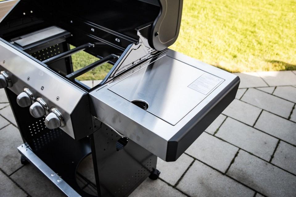 Seitentisch inkl. Seitenkocher (3KW)