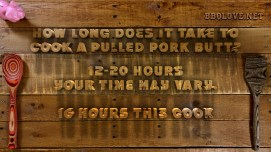 How long does it take to Cook a pulled pork butt
