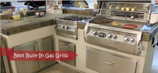 besst built-in gas grills