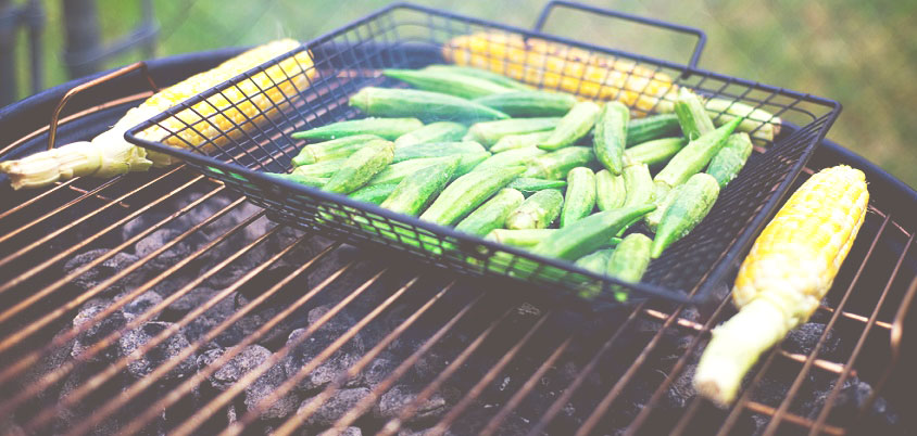 How to Grill Vegetables in a Basket