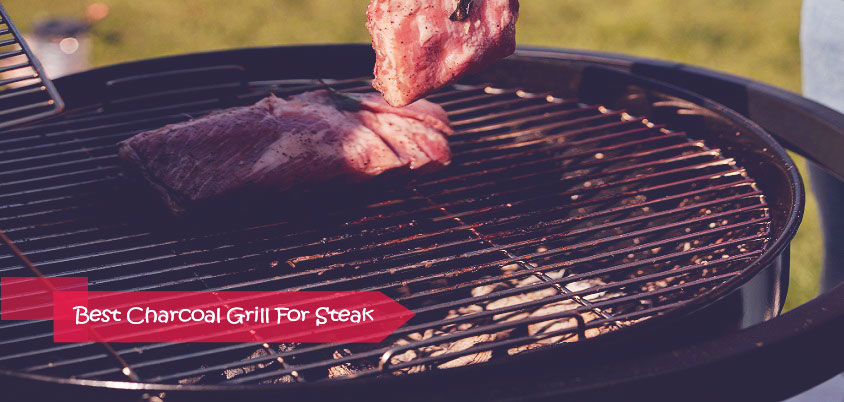 Best charcoal grill for steak
