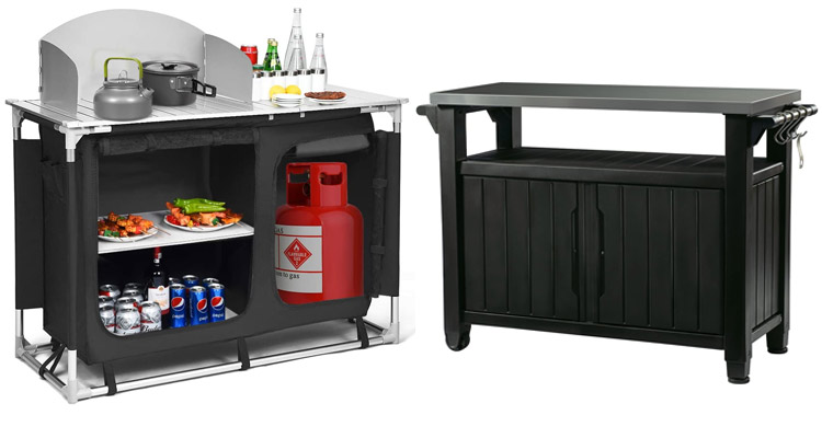 5 best outdoor grill prep tables for 2021
