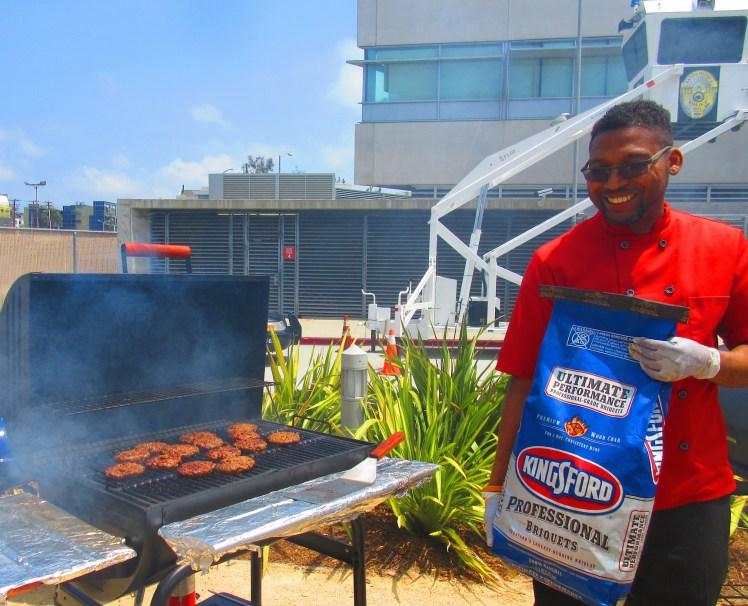 #ChefMickBrown #KingsfordCharcoal #SantaMonicaPoliceDepartment #Anniversary