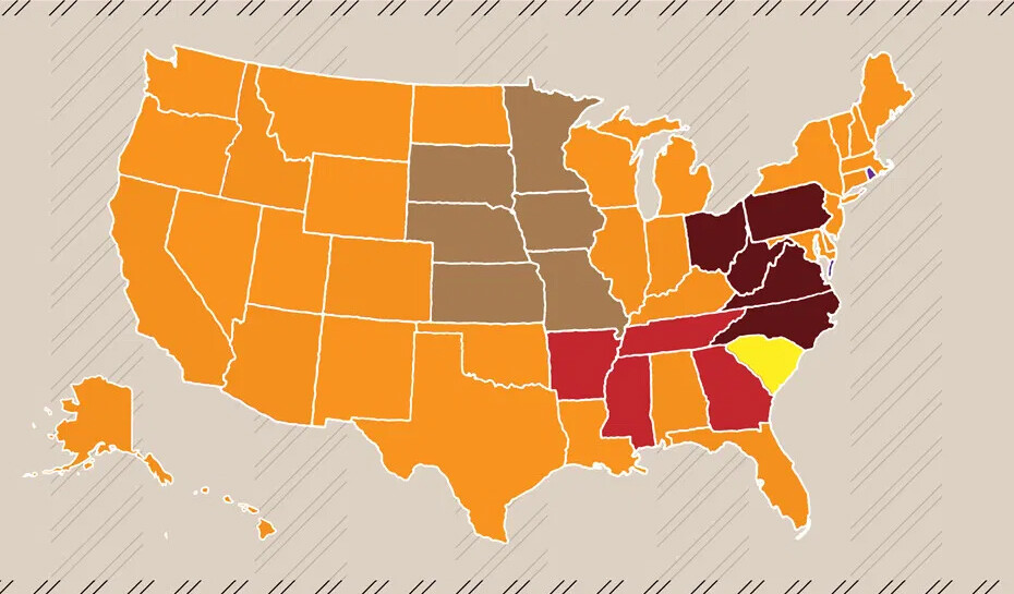 Most Popular Bbq Styles In The Us