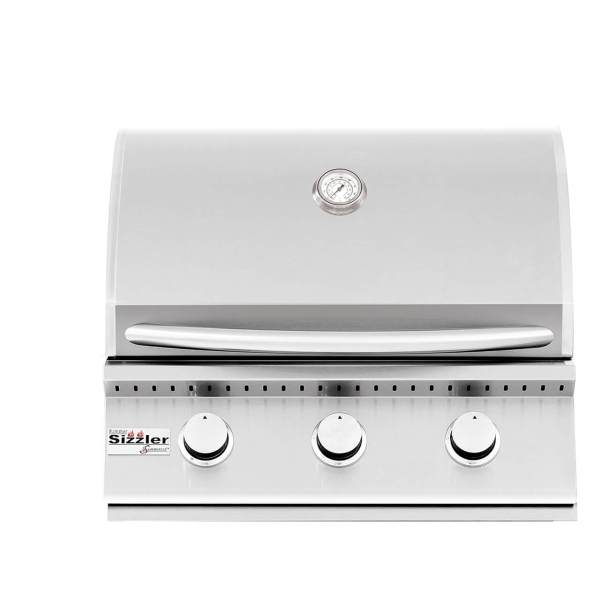 Summerset Sizzler 26 Inch Built-in Closed Barbecue Grill Head