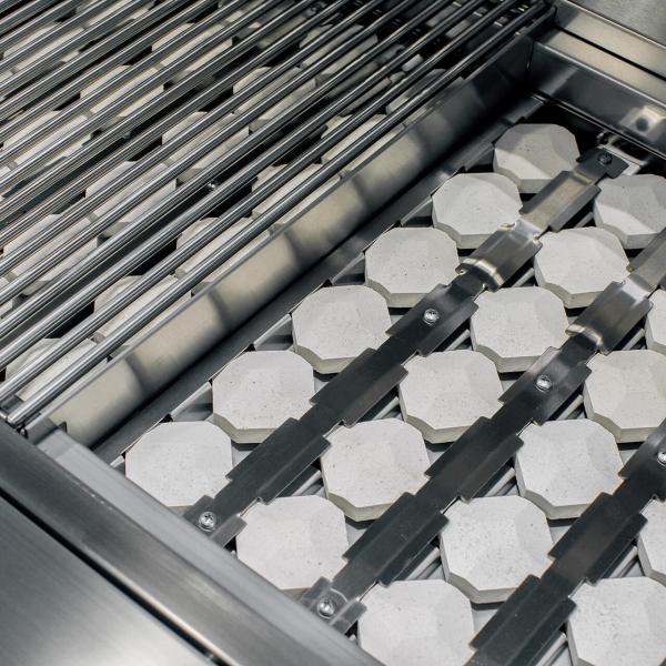 Alturi Cast Red Brass 30 Inch Barbecue Grill Heat Zone Divider and Burner Cover Briquettes