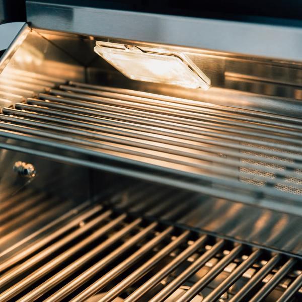 Summerset TRLD 44 Inch BBQ Grill Interior Lights and Warming Rack