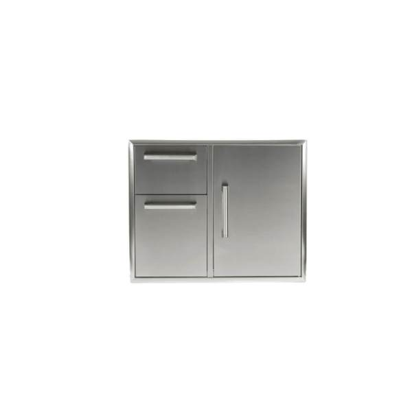 CCD-2DC31 Coyote Outdoor Living CombinationDouble Access Drawer & Single Access Door Storage