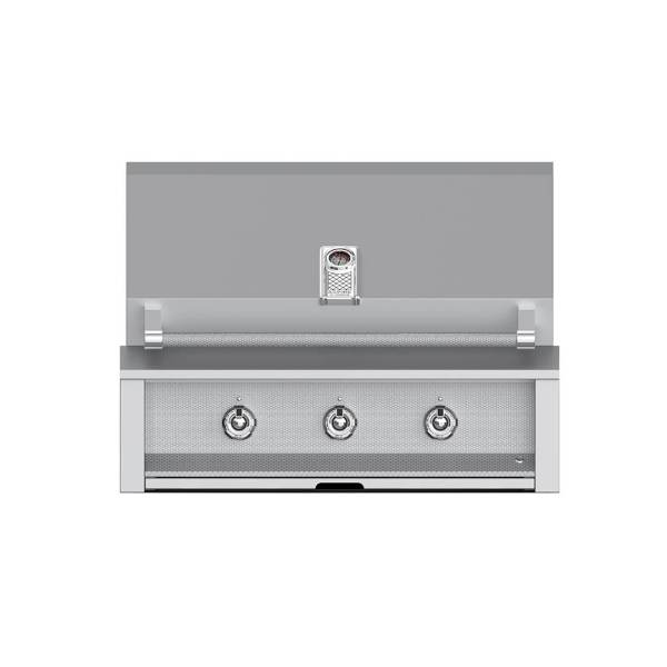 Hestan Outdoor EAB36 Aspire Series 36 Inch Built-in Grill with Optional Rotisserie - Steeletto
