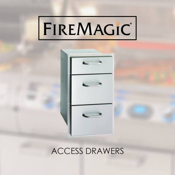 Fire Magic Access Drawers