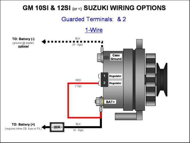 1 wire alternator wiring diagram the wiring powerbuilt 1 wire alternator diagram home wiring diagrams