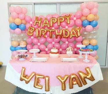 Pastel-21st-Birthday-Balloon-Backdrop