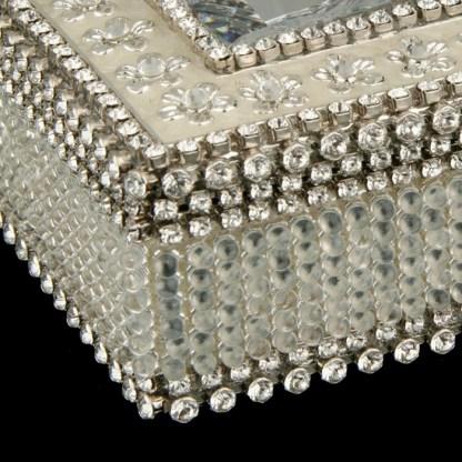 bb Simon Swarovski crystal jewelry box J-702
