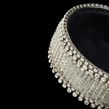 bb Simon Swarovski crystal jewelry box J-706
