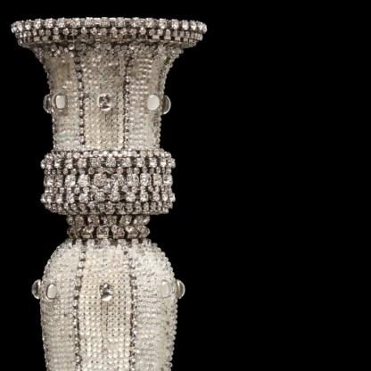 CDH-240-M bb Simon Swarovski crystal Candle holder