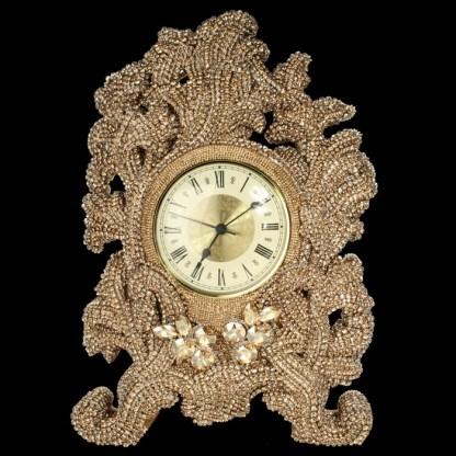 CLK-105-GOLD B.B.SIMON Clock