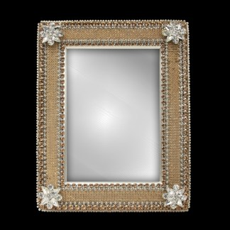 F-120-M bb Simon Swarovski crystal frame