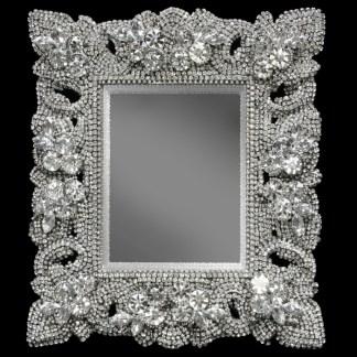 F-145-CLEAR-L bb Simon Swarovski crystal frame