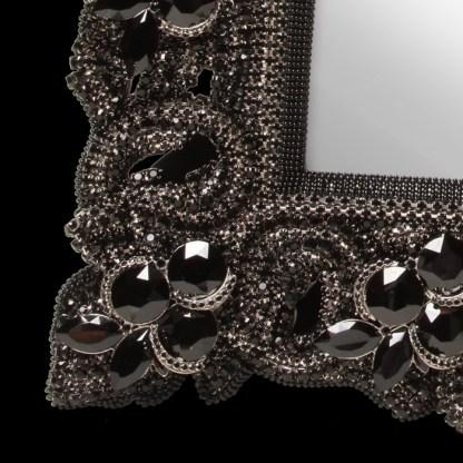 F-145-JET-L bb Simon Swarovski crystal frame